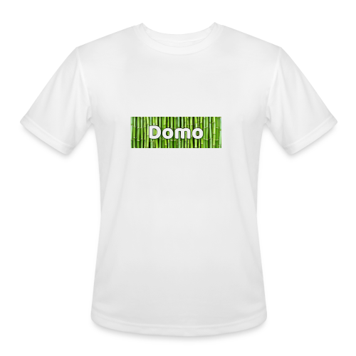 Domo box logo mens shirt - Men's Moisture Wicking Performance T-Shirt