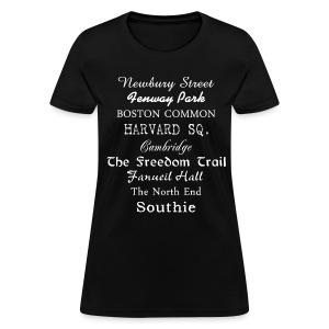 Boston Things - Women's T-Shirt