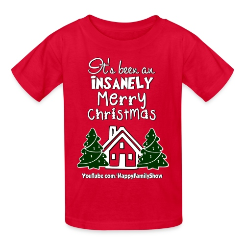 Insanely Merry Chirsmas Kids T-Shirt - Kids' T-Shirt