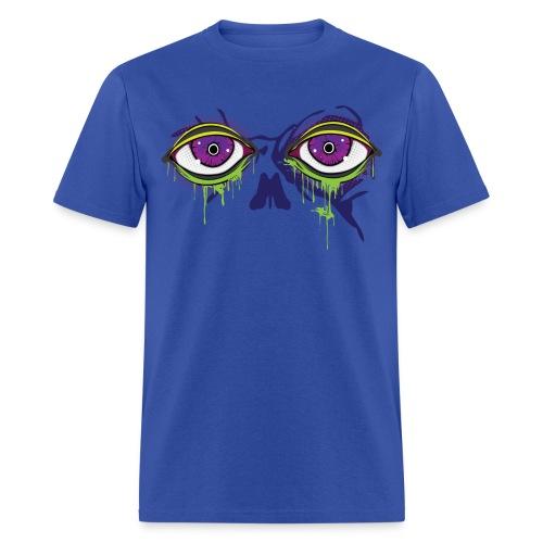 Zombie melting eyes - Zombie T-Shirt - Spreadshirt  - Men's T-Shirt