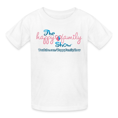 Happy Family Show Kids Logo T-Shirt - Kids' T-Shirt