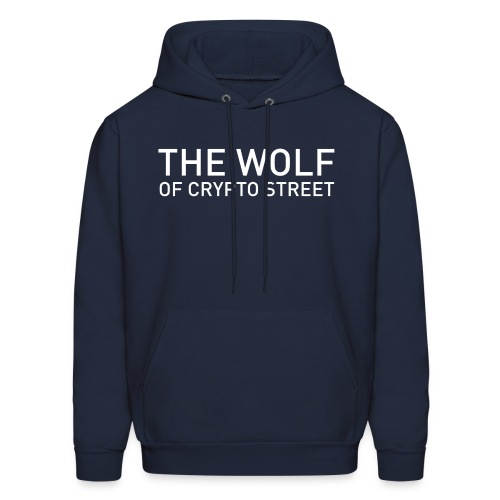 The Wolf Of Crypto Street - Men's Hoodie
