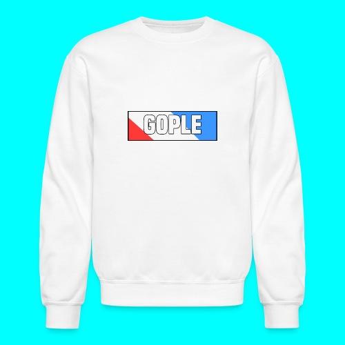 Gople Side Text - Crewneck Sweatshirt