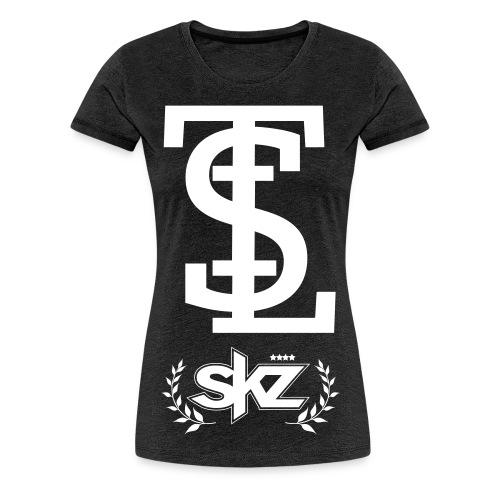 New STL white - Women's Premium T-Shirt