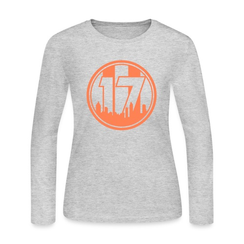 We Are 17 - Light Grey Longsleeve T-Shirt - Women's Long Sleeve Jersey T-Shirt