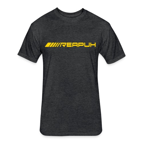 Reapuh Gold Logo Cotton/Poly T-Shirt - Fitted Cotton/Poly T-Shirt by Next Level