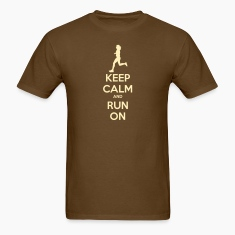 Keep Calm & Run Men's Shirt