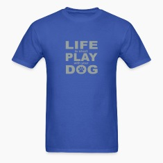 Play with your Dog Men's Shirt