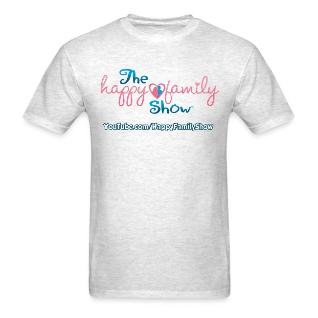 Happy Family Show Logo Adult T-shirt