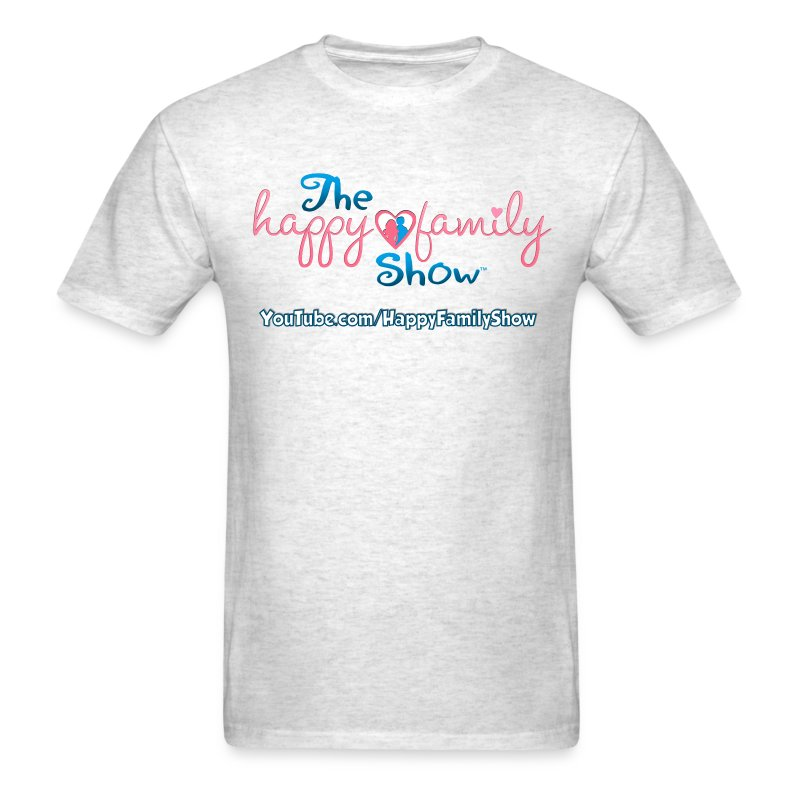 Happy Family Show Logo Adult T-shirt - Men's T-Shirt