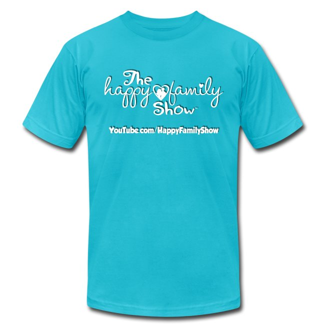 Happy Family Show white logo Adult T-Shirt