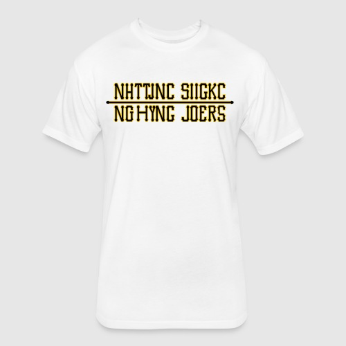 Nutting Sucks - Fitted Cotton/Poly T-Shirt by Next Level