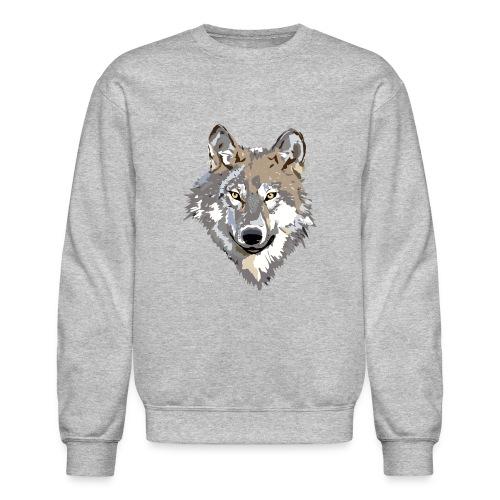 Wolf Sweater - Crewneck Sweatshirt