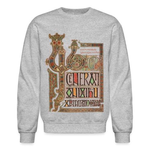 Lindisfarne Gospels - Crewneck Sweatshirt