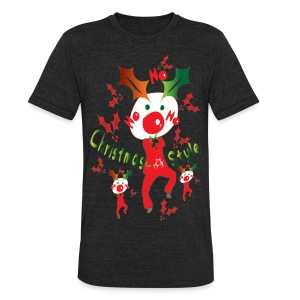 Christmas style Men's Tri-Blend Vintage T-Shirt by American Apparel - Unisex Tri-Blend T-Shirt by American Apparel
