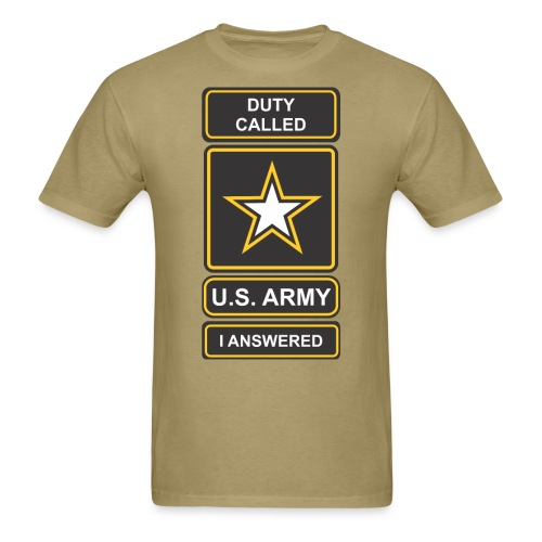 Duty Called Army M - Men's T-Shirt