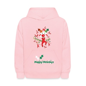 Christmas style Kid's Hooded Sweatshirt - Kids' Hoodie