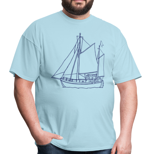sailing boat - Men's T-Shirt