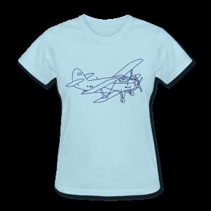 Biplane - Women's T-Shirt