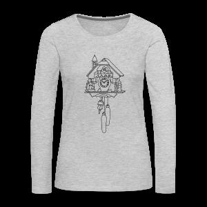 Kuckuck Clock - Women's Premium Long Sleeve T-Shirt