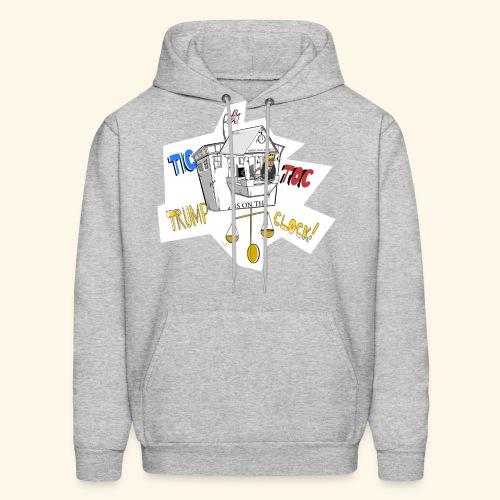 tictoc line - Men's Hoodie