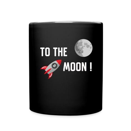 To the moon - Full Color Mug