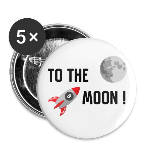 To the moon - Small Buttons