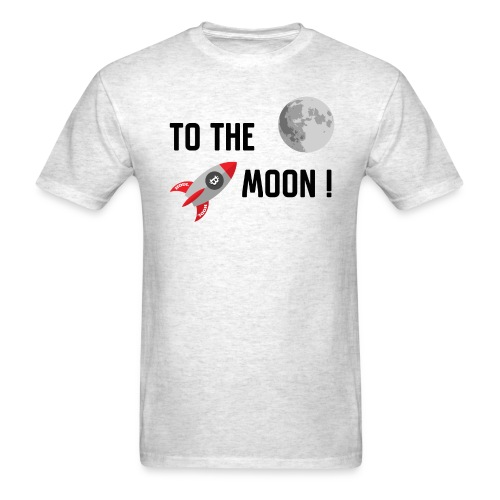 To the moon - Men's T-Shirt