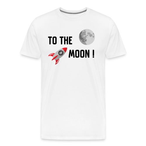 To the moon - Men's Premium T-Shirt