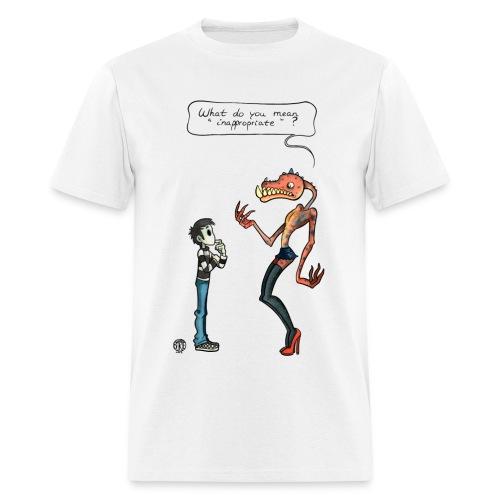 Talk To Faceless Neil Innapropriate shirt - Men's T-Shirt