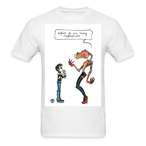 Talk To Faceless Neil Innapropriate shirt - Men's T-Shirt