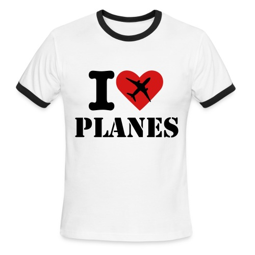 Planespotter Fashion T-Shirt - Men's Ringer T-Shirt