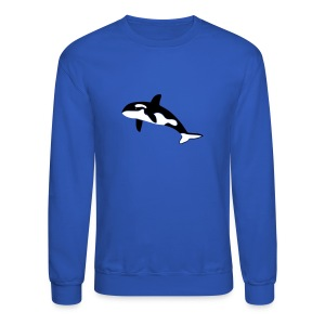 animal t-shirt orca orka killer whale dolphin blackfish - Crewneck Sweatshirt