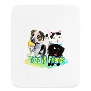 Tozzi & Friends Vertical Mousepad  - Mouse pad Vertical