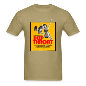 Deep Throat - Men's T-Shirt