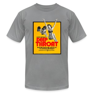 Deep Throat - Men's T-Shirt by American Apparel