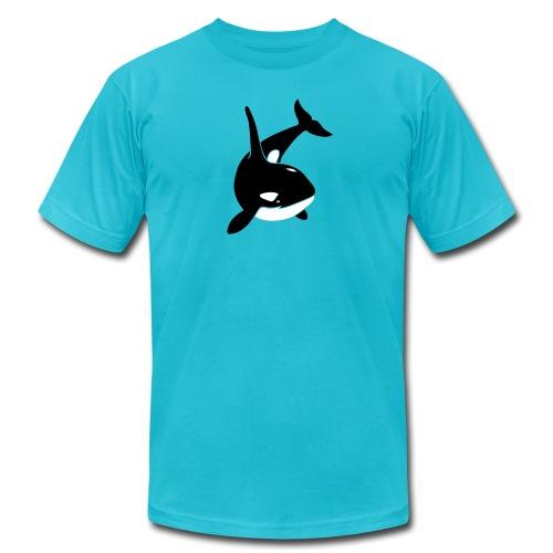 animal t-shirt orca orka killer whale dolphin blackfish - Men's Fine Jersey T-Shirt