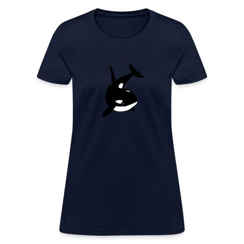 animal t-shirt orca orka killer whale dolphin blackfish - Women's T-Shirt