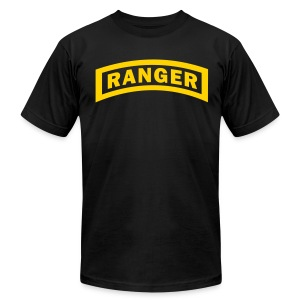 U.S. Army Ranger Logo - Men's T-Shirt by American Apparel