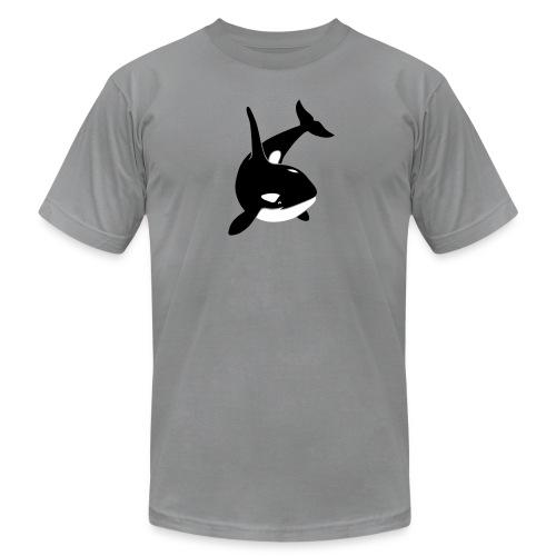 animal t-shirt orca orka killer whale dolphin blackfish - Men's  Jersey T-Shirt