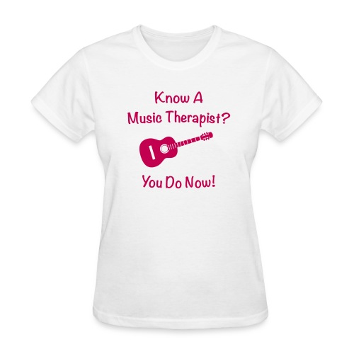 Music Therapy T-Shirt - Women's T-Shirt