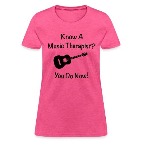 Music Therapy T-Shirt - Women's T-Shirt