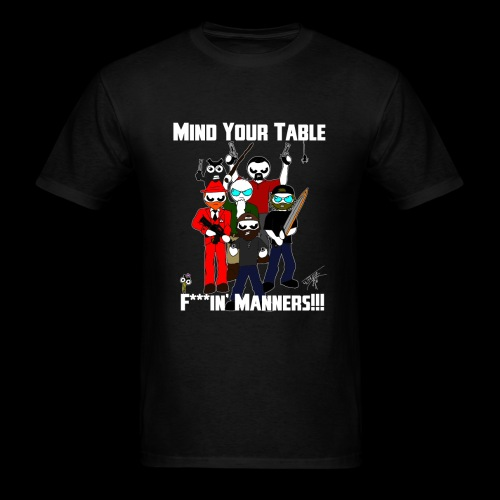 Table Manners Men's T-Shirt (Bleeped) - Men's T-Shirt