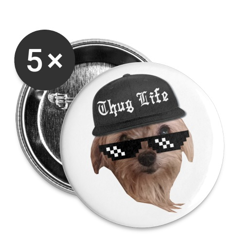 Thug Life Sofie Pins - Large Buttons