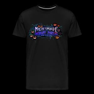 Nightmare Haunt Park Carved Commemorative Tee Mens - Men's Premium T-Shirt