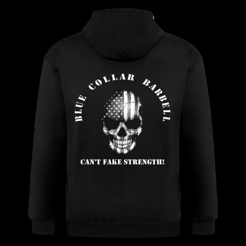 Skull Logo Team BCB Zippie w/ Sleeves - Men's Zip Hoodie