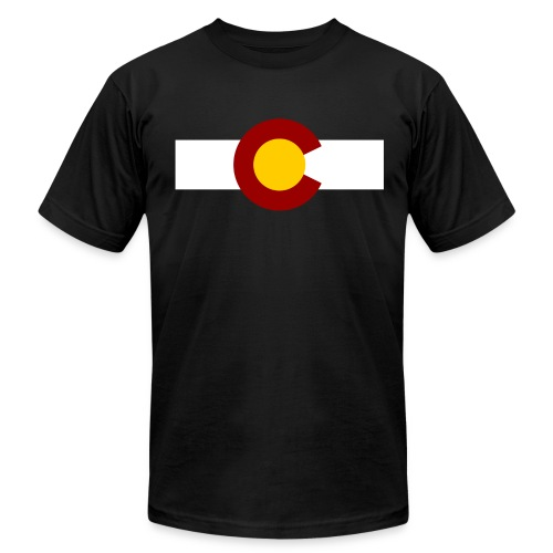 Vintage Colorado - Men's Fine Jersey T-Shirt