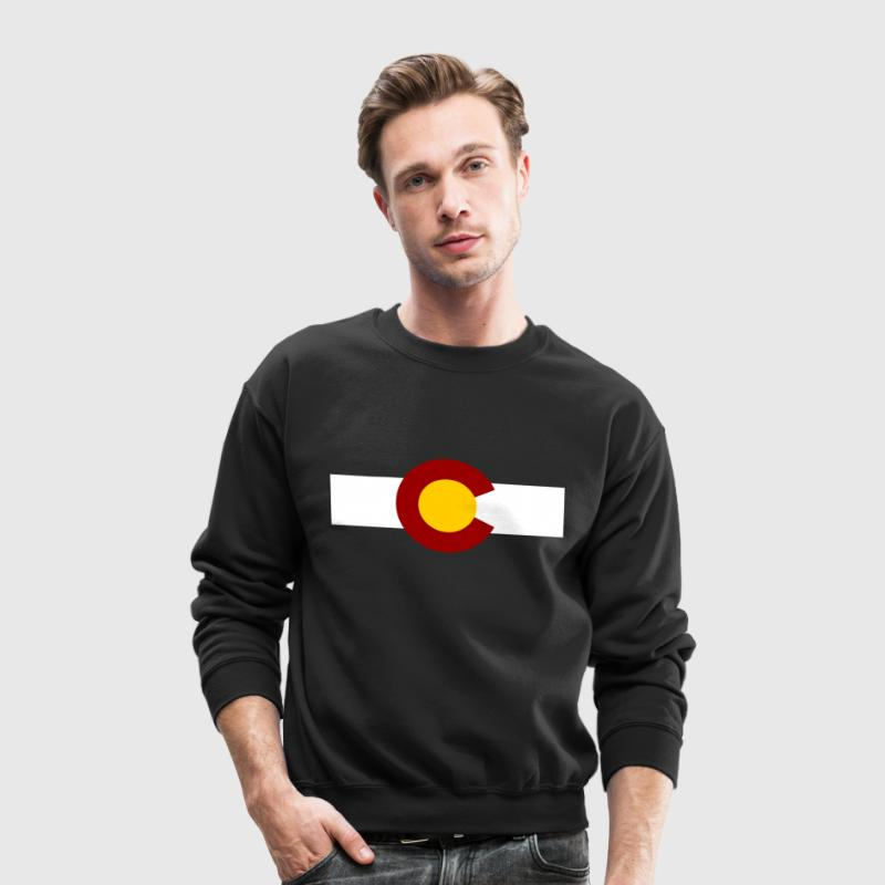 vintage colorado Long Sleeve Shirts - Crewneck Sweatshirt