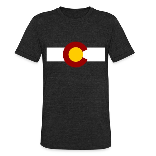 Vintage Colorado - Unisex Tri-Blend T-Shirt by American Apparel