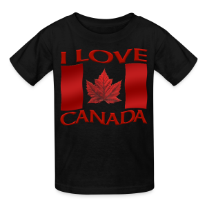 Kid's I Love Canada T-shirt Kid's Canada Souvenir Shirts - Kids' T-Shirt